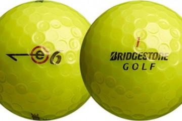 Bridgestone New E6 Multi Layer Golf Balls Pack