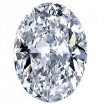 Oval Shape Diamond Image