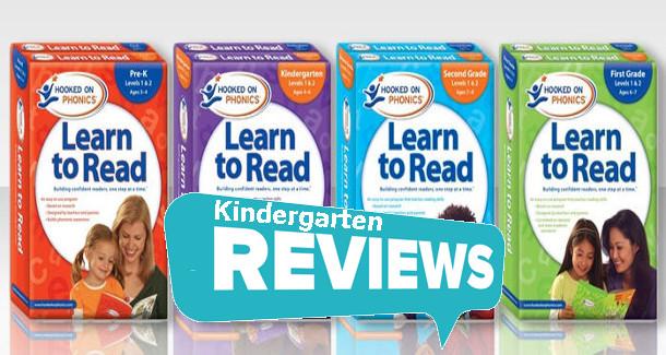 Hooked On Phonics Kindergarten Reviews Level 1 & 2