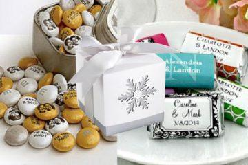 Personalized wedding favors, unique custom gift ideas