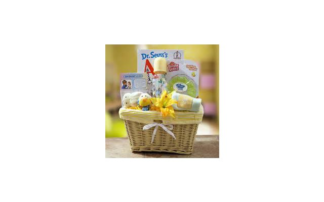 New Baby Gift Basket: Baby Shower Ideas