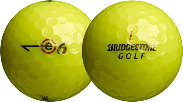 Bridgestone New E6 Multi Layer Golf Balls Pack