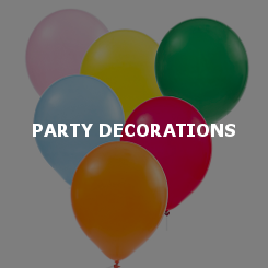 party decorations ballons