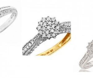 Buying Diamond Engagement Rings, Cluster Diamonds