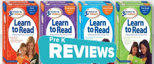Hooked On Phonics Pre K Reviews Level 1 & 2