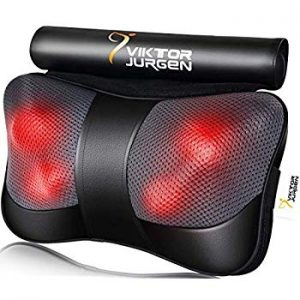 Viktor Jurgen, Massage Pillow, Neck Massage Pillow, Shiatsu Kneading